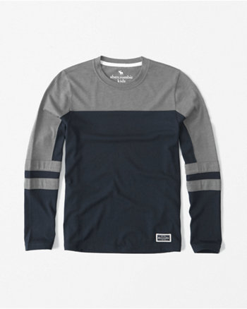 kids varsity long-sleeve tee