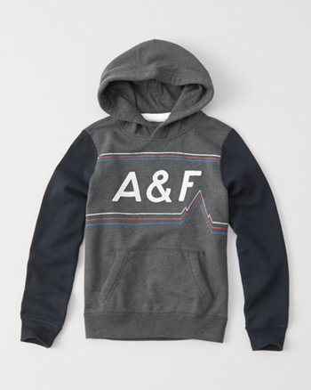 kids logo pullover hoodie