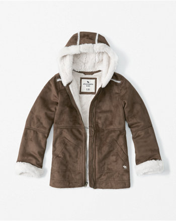 kids Shearling Coat