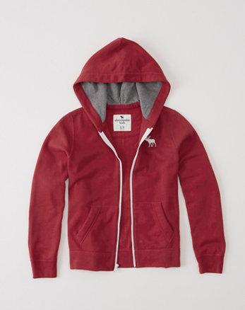 kids classic fleece full-zip hoodie