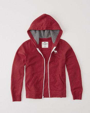 classic fleece full-zip hoodie