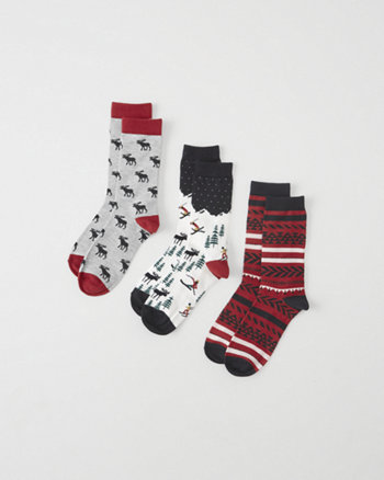 kids holiday socks