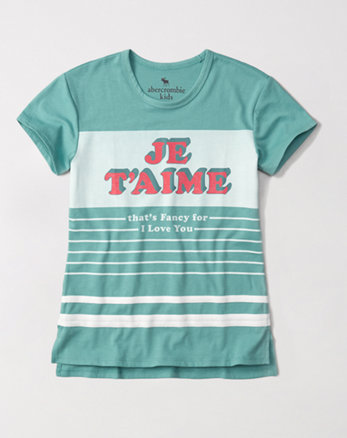 kids graphic tunic tee