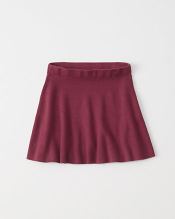 kids sweater skater skirt