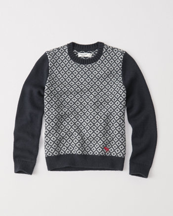 kids mountain crew sweater