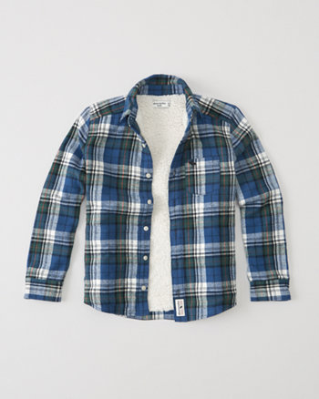 kids flannel shirt jacket