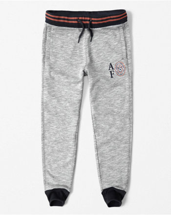 kids textured joggers