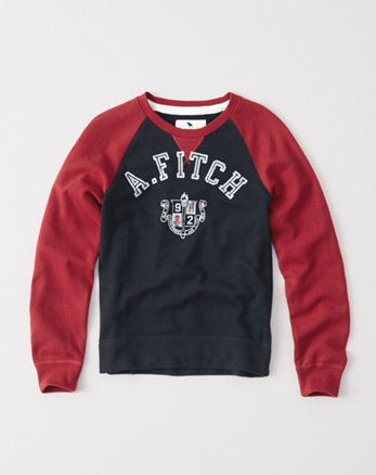 kids classic crew fleece sweatshirt