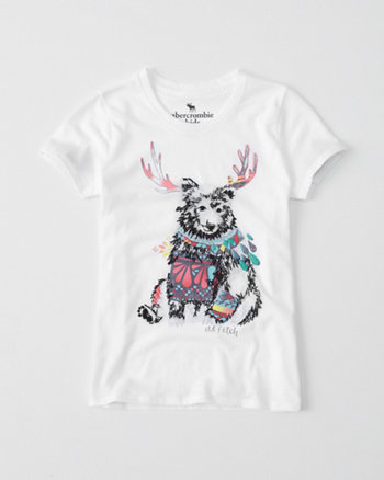 kids graphic logo tee