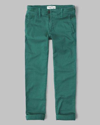 kids straight chino pants