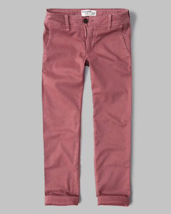 kids straight chino pants