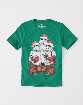 kids star wars tee