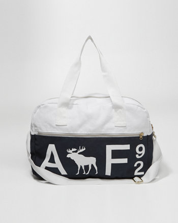kids logo duffle bag