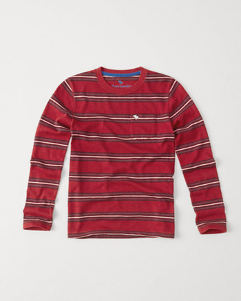 kids long-sleeve snit tee