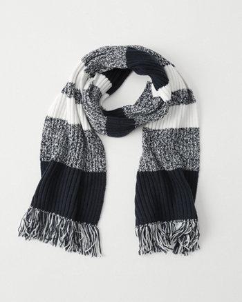 kids knit scarf