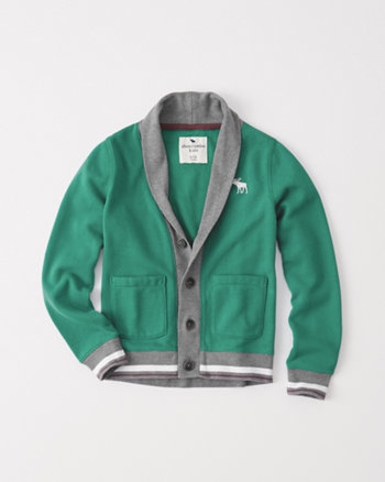 kids classic fleece cardigan