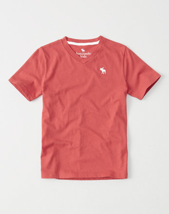 kids icon v-neck tee