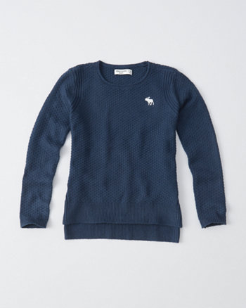 kids crew neck pullover sweater