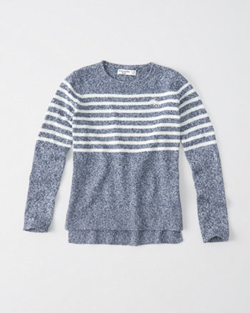 kids crew neck pullover sweater