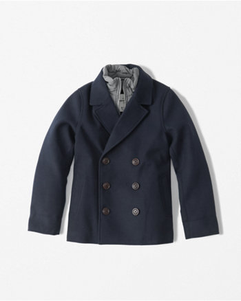 kids twofer peacoat