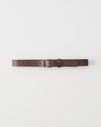 kids faux leather belt