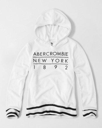 kids terry pullover hoodie