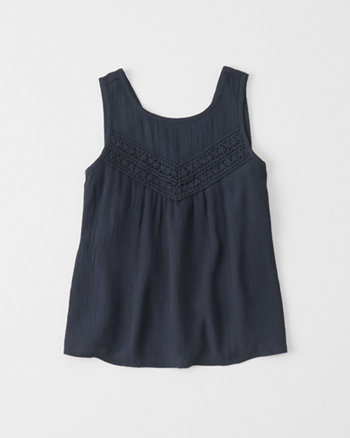 kids easy lace tank