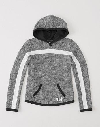 kids active popover hoodie