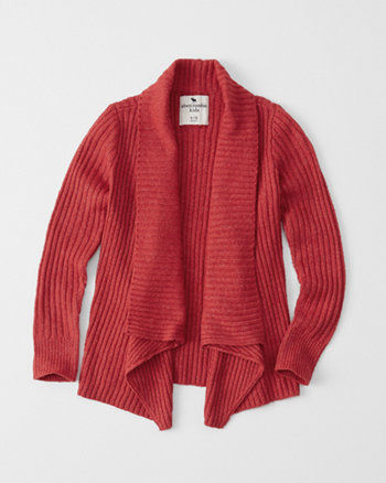 kids shawl cardigan