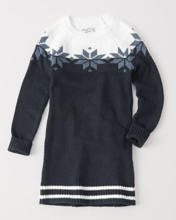 kids shift sweater dress