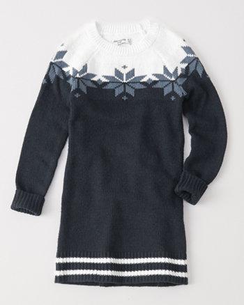 kids shift sweater dress