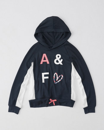kids fleece popover hoodie