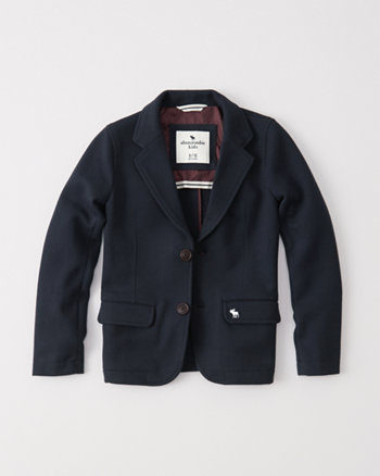 kids knit blazer