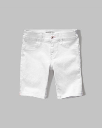 kids a&f denim boyshorts