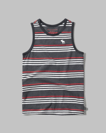 kids patterned tank