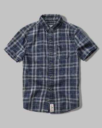 kids short sleeve iconic pocket shirt