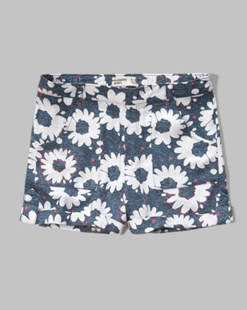 kids patterned boyshorts