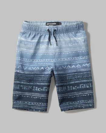 kids americana board shorts