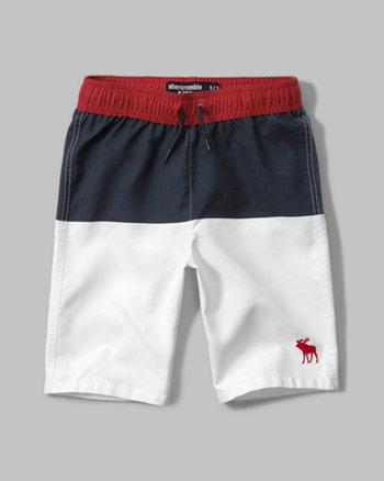 kids americana board shorts