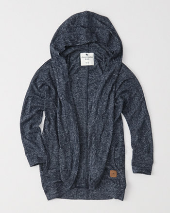 kids cozy fleece hooded jacket