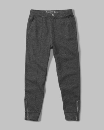 kids zip harem pants
