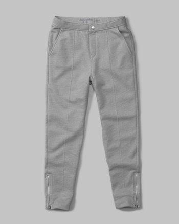 kids zip harem pants