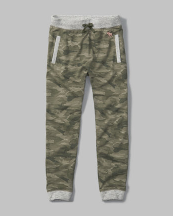kids camo harem pants
