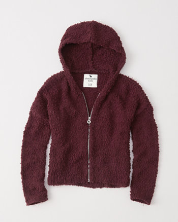 kids zip-up cozy hoodie