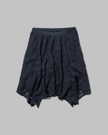 kids lace handkerchief skirt