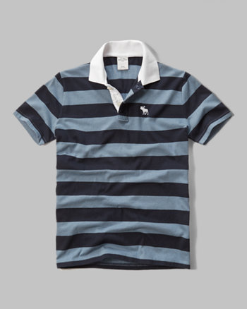 kids striped polo