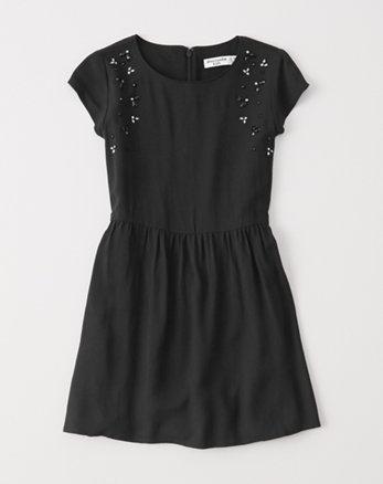 kids shine dress
