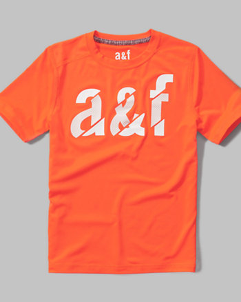 kids a&f sport graphic tee