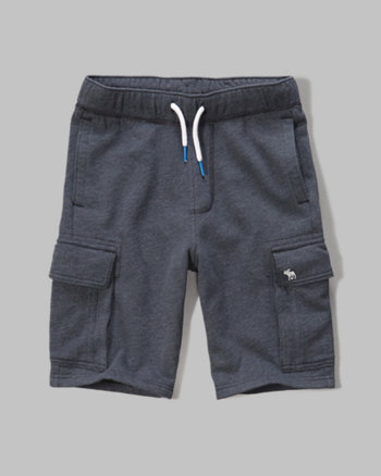 kids fleece cargo shorts