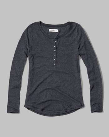 kids knit henley